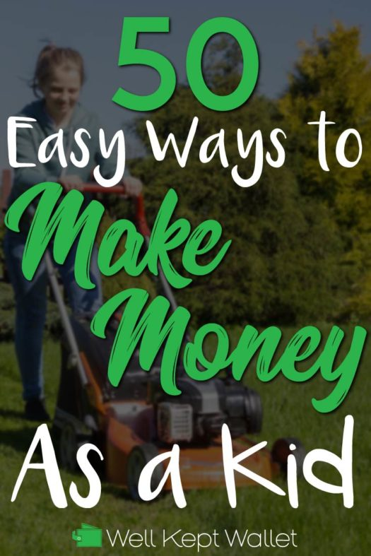 Make money as a kid pinterest pin