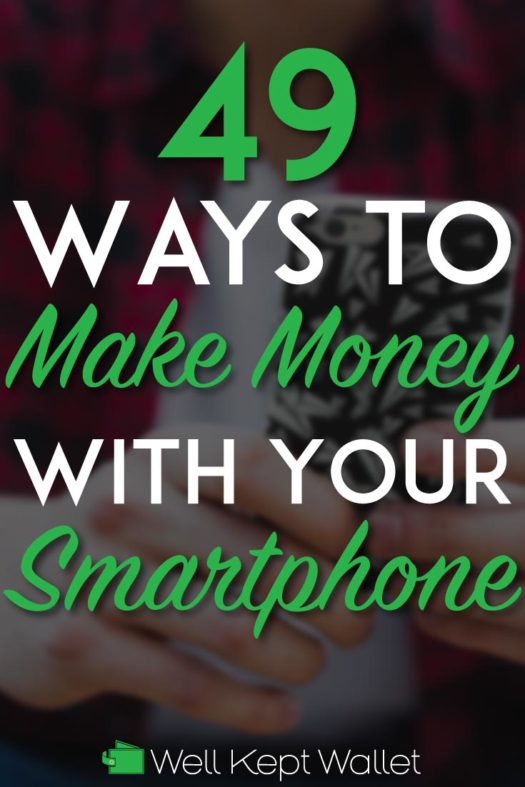 Make money with your smartphone pinterest pin