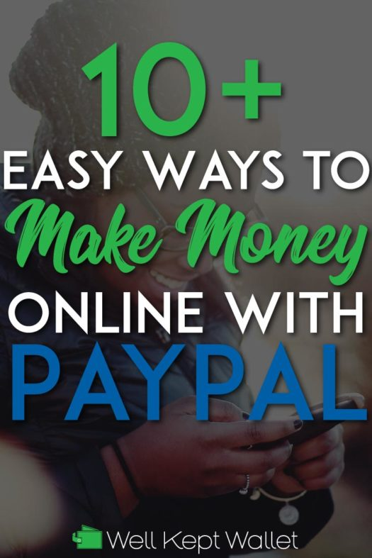 Make money with paypal pinterest pin
