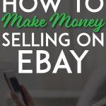 Make money selling on ebay pinterest pin