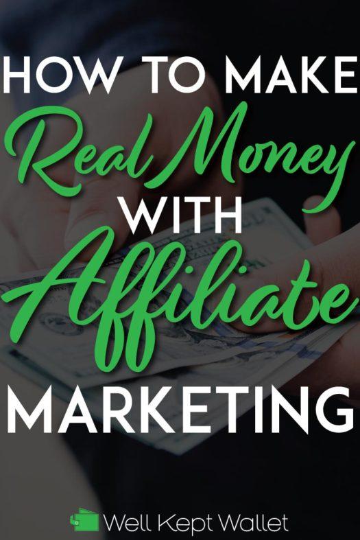 Make money with affiliate marketing pinterest pin