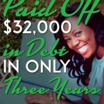 She paid off 32k in debt pin