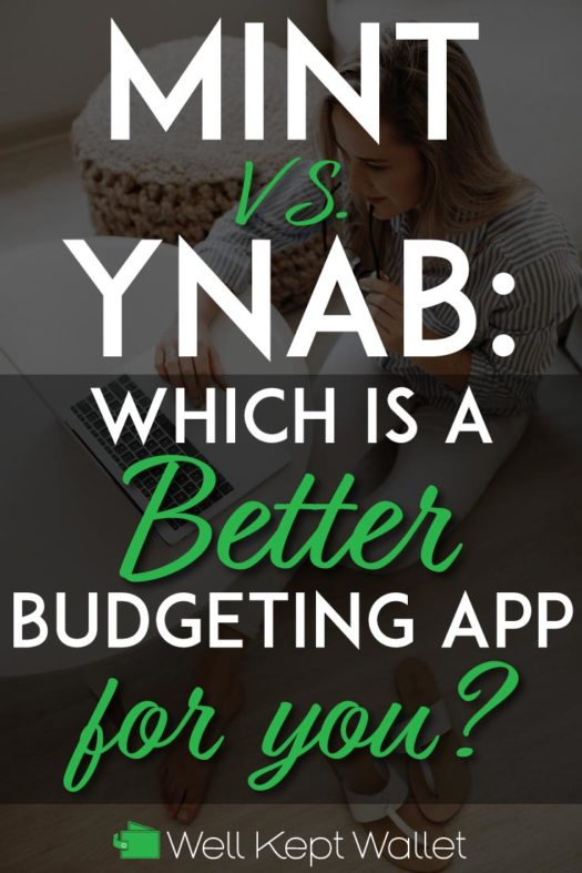 Mint vs YNAB Pinterest pin
