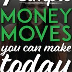 7 simple money moves pinterest pin