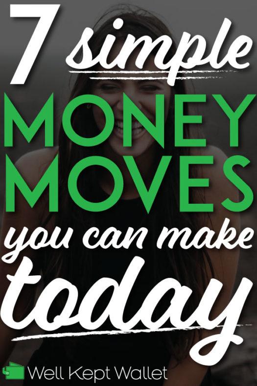 7 simple money moves pinterest pin