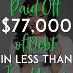 Monica Louie Debt Success Pin