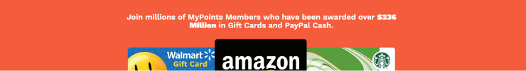mypoints Giftcard information