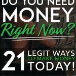 Legit ways to make money today pinterest pin