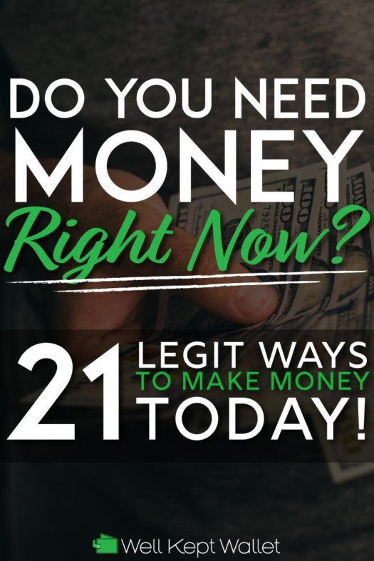Legit ways to make money today pinterest pin