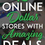 Online Dollar Stores pinterest pin