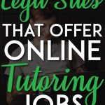 Legit online tutoring jobs pinterest pin