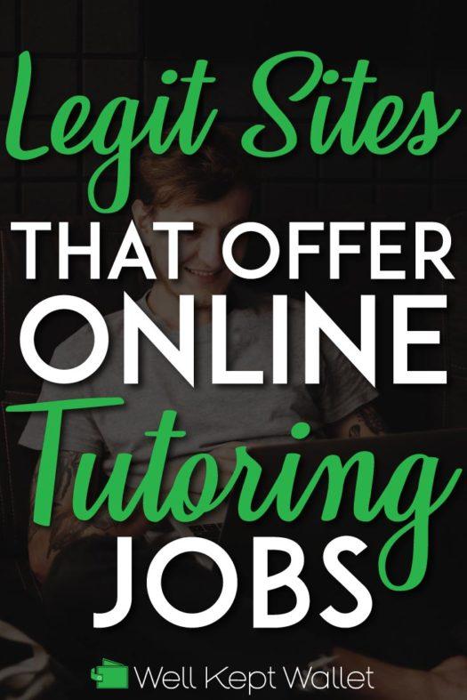 Legit online tutoring jobs pinterest pin