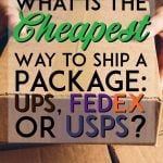 Which shipping service is cheapest pinterest pin