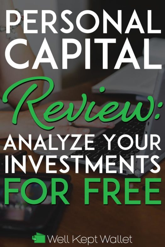 Personal Capital Review Pinterest Pin