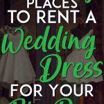 Places to rent wedding dress Pinterest Pin