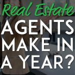 How much do real estate agents make in a year pinterest pin