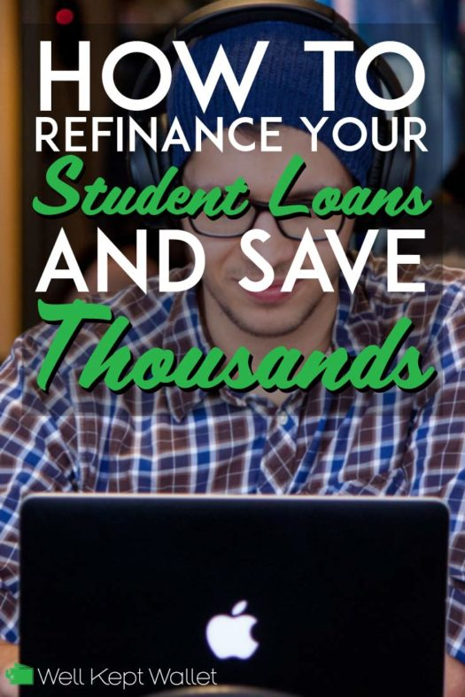 How to refinance student loans and save thousands pinterest pin