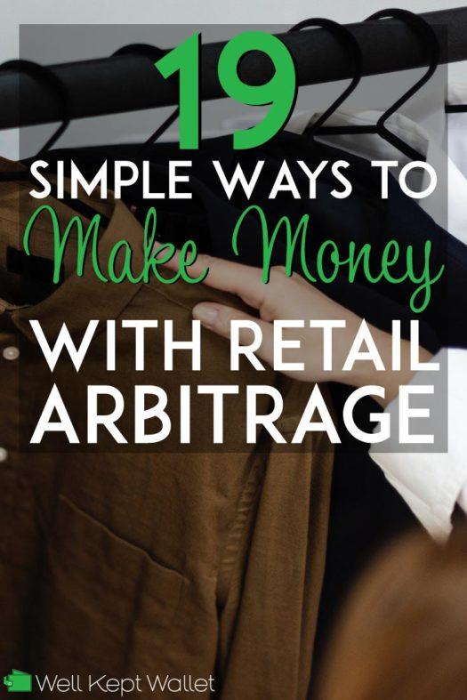 19 simple ways to make money with retail arbitrage pinterest pin