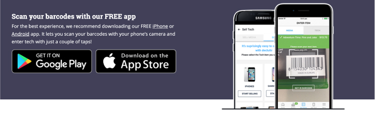 Information about how to download their app