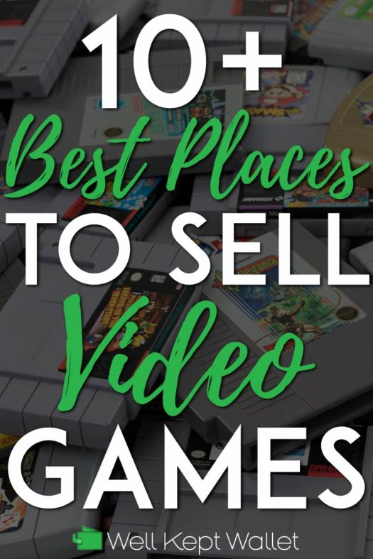Best places to sell video games pinterest pin