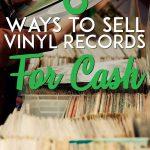 Sell vinyl records for cash pinterest pin