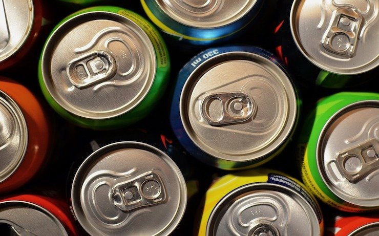 Soda can tops that can be recycled