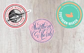 Southern Marsh Sticker options