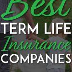 Best term life insurance pinterest pin