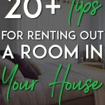 Tips for renting out a room pinterest pin