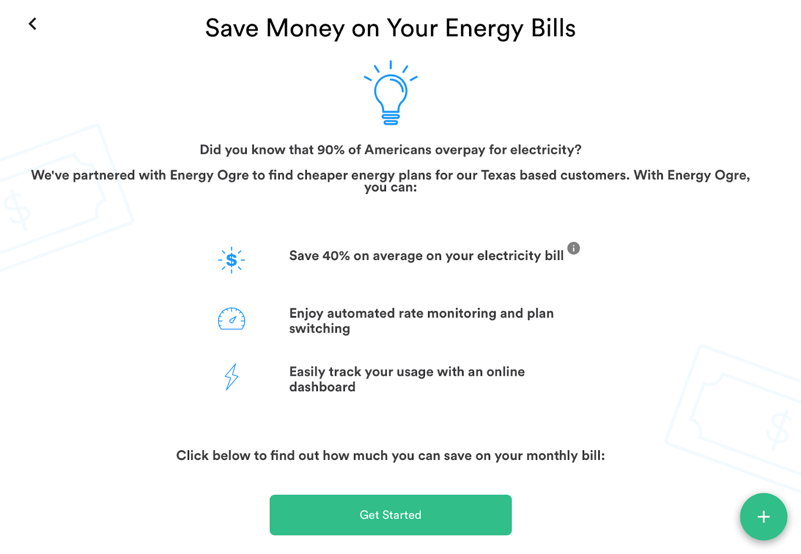 Trim energy bills