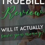 Truebill Review pinterest pin