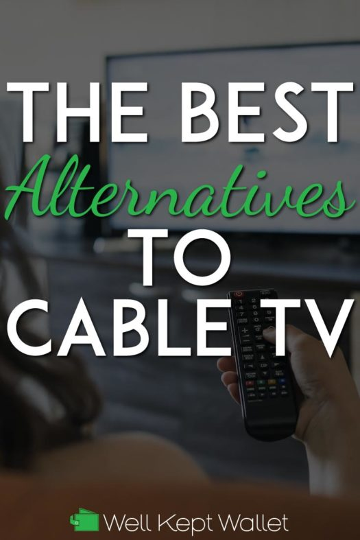 Alternatives to cable TV pinterest pin