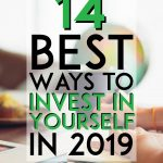 Best ways to invest in yourself pinterest pin