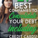 Best companies to consolidate debt pinterest pin