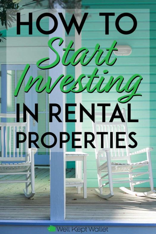How to start investing in rental properties pinterest pin