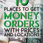 Places to get money orders with prices and locations pinterest pin