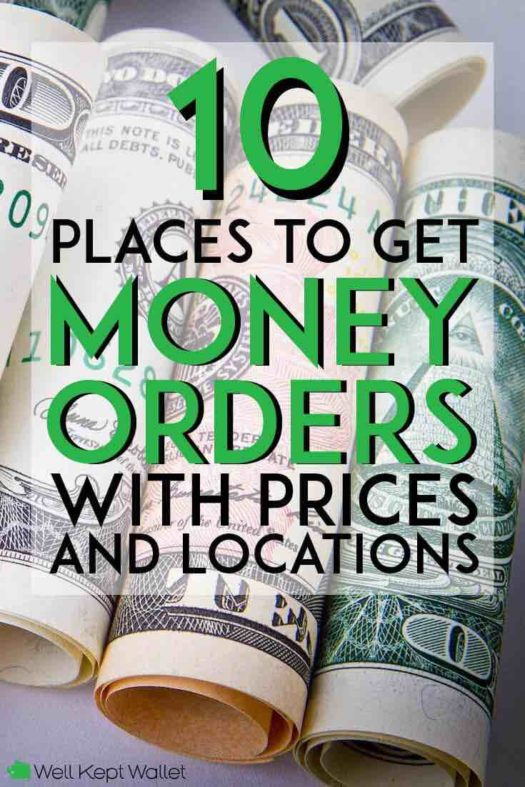 10 Places to Get Money Orders (Near Me) with Prices and